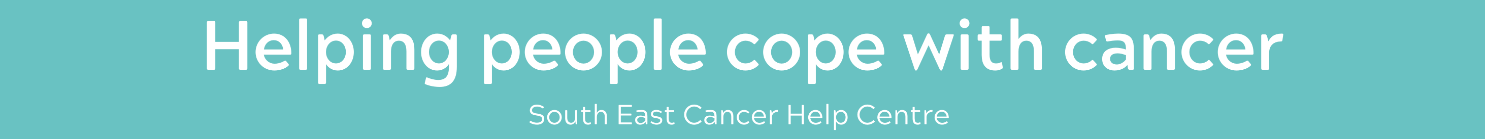 Helping people cope with cancer